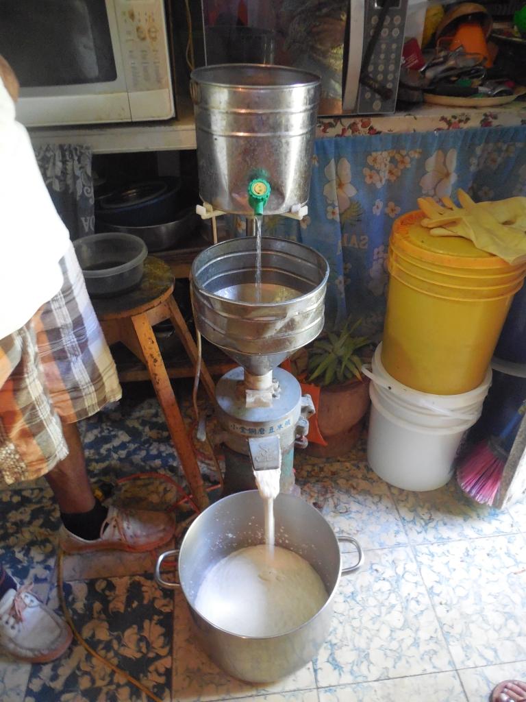 Punta Gorda, tofu lesson - corn presser #1