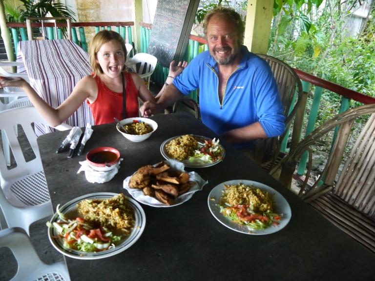 Punta Gorda - big slap up tofu meal #2