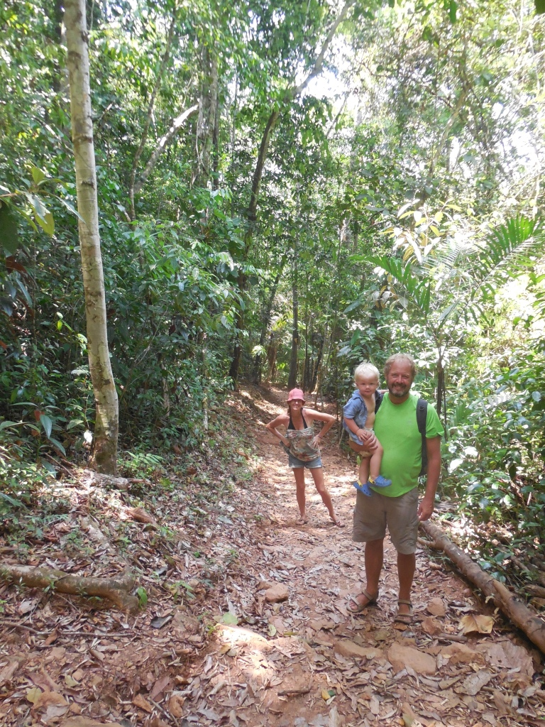 the family walking through the jungle - nature reserve Travellingminstrel #15