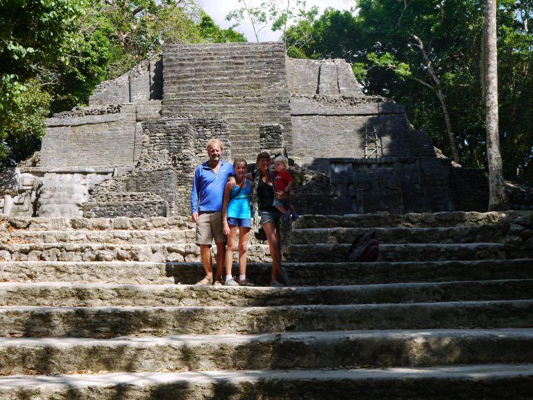 Mask temple - Lamanai Travellingminstrel #10