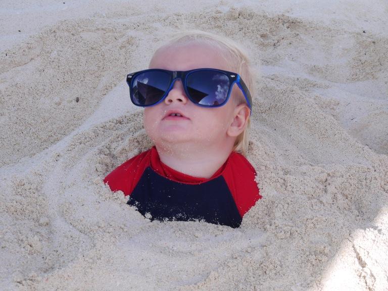 Cool Jed in sand - Travellingminstrel.wordpress.com #