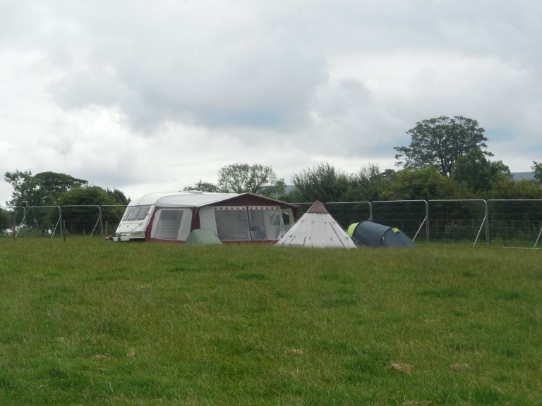 Our camping area (it was a lot busier) - Travellingminstrel #