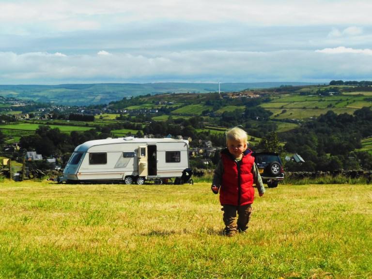 Our caravan - Travellingminstrel