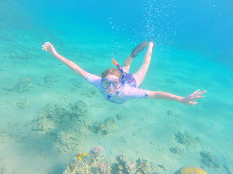 Me snorkelling - Travellingminstrel #