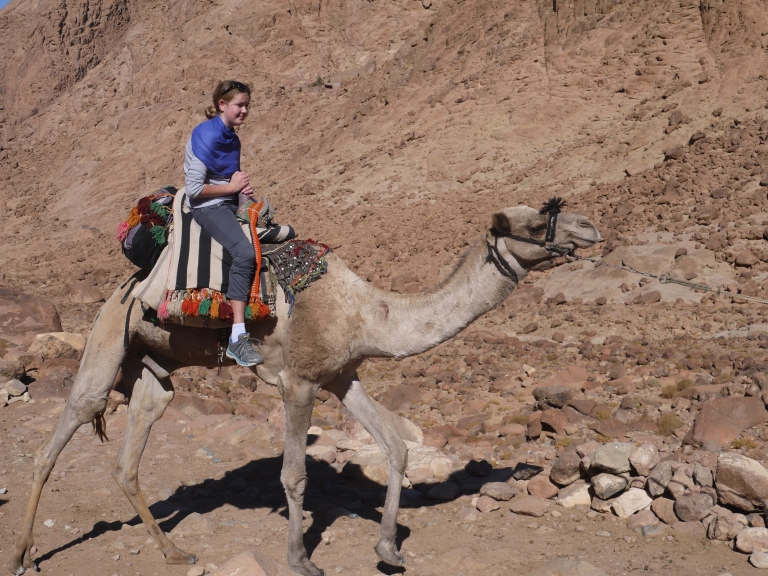 Me on a camel - Travellingminstrel #