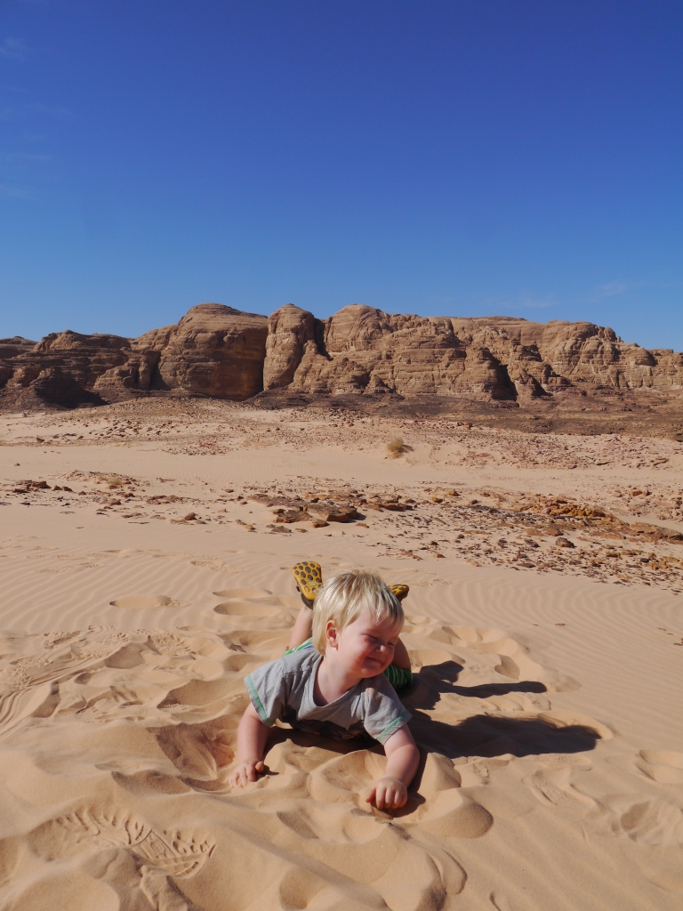 Jed in the silky sand - Travellingminstrel #3