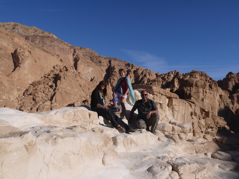 Us in the White Canyon - Travellingminstrel #7