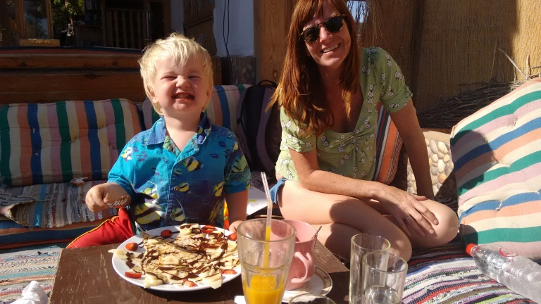 Jeds' pancake - Travellingminstrel #