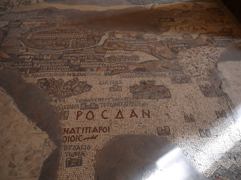 Mosaic map - Travellingminstrel #