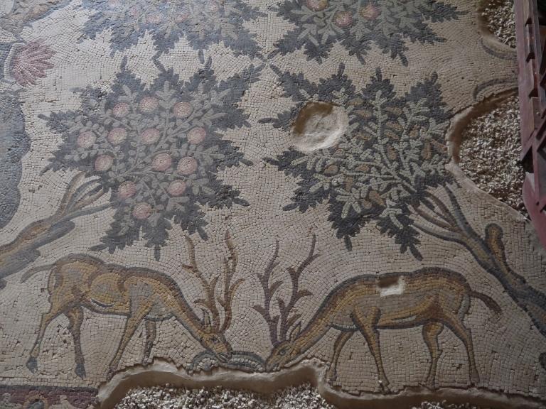 Mosaic floor - Travellingminstrel #