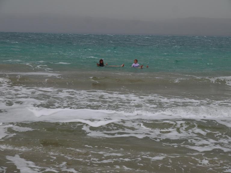 Floating in the Dead sea - Travellingminstrel #