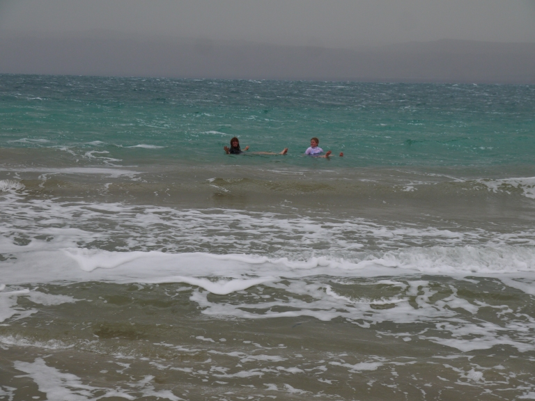 Floating in the Dead sea - Travellingminstrel #