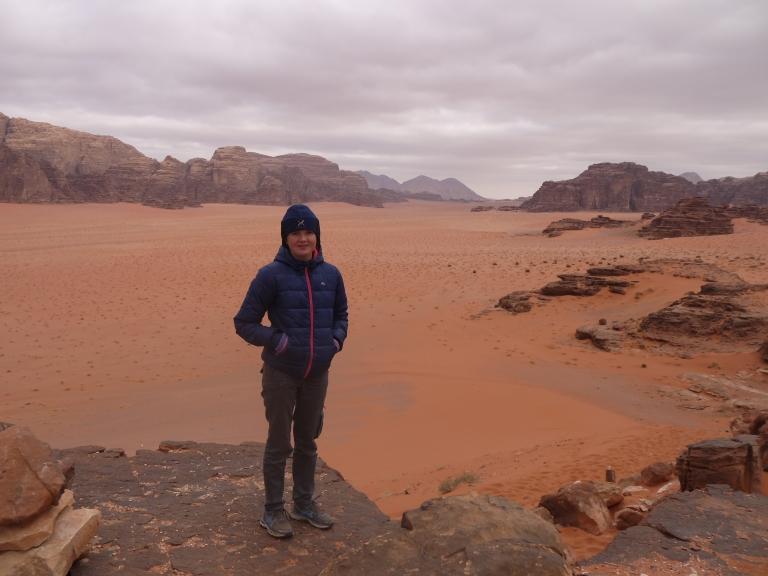 Me in Wadi Rum - Travellingminstrel #