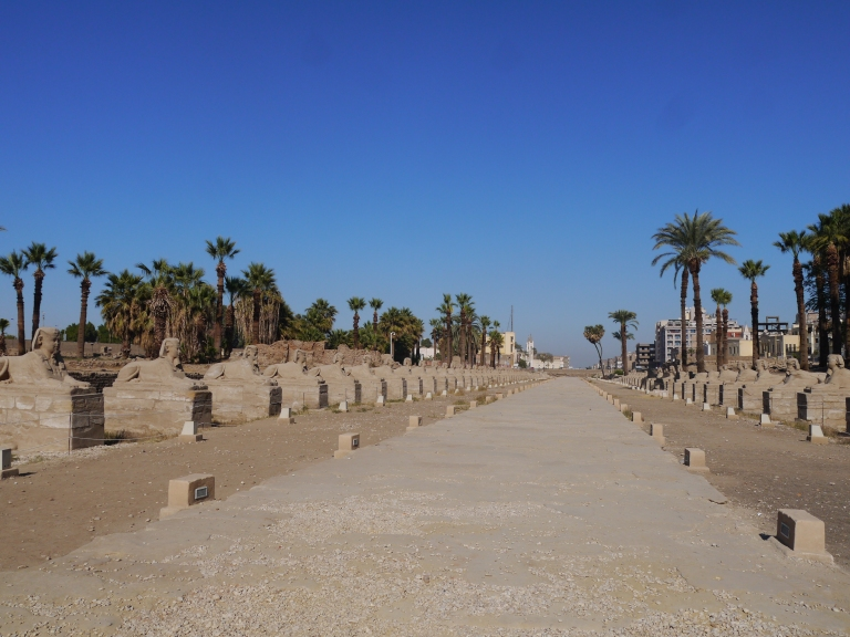 Avenue of Sphinxes - Travellingminstrel #