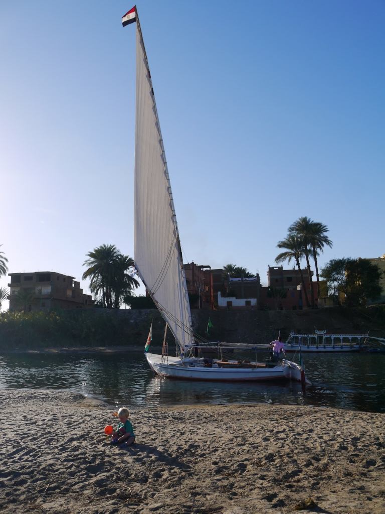 Our felucca - Travellingminstrel #