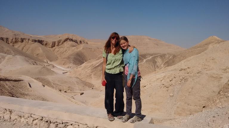 Me and mum - Travellingminstrel #