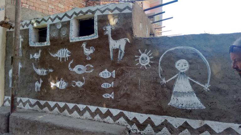 Nubian house - Travellingminstrel #