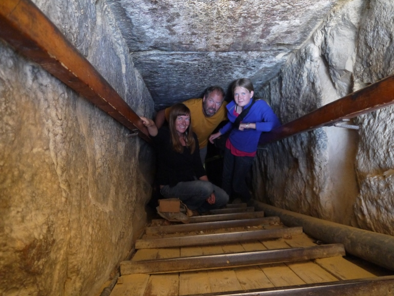 Coming out from below the earth - Travellingminstrel #
