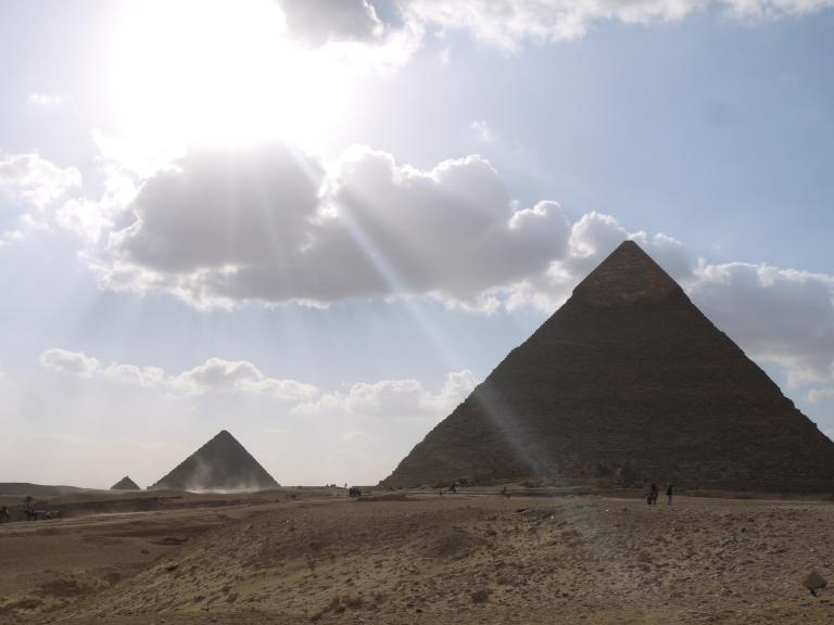 Khafres pyramid - Travellingminstrel #