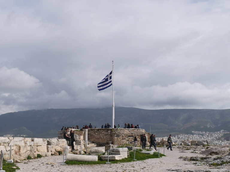 Greek flag - Travellingminstrel #