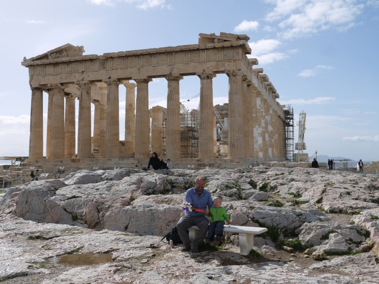 The Parthenon - Travellingminstrel #