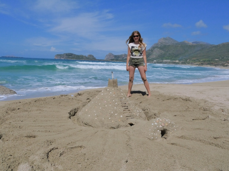 Our sand castle - Travellingminstrel #