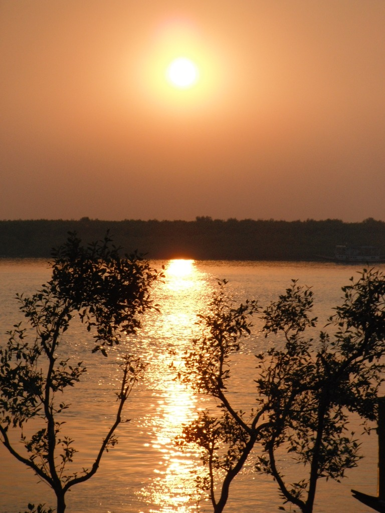 Sun set in the Sundarbans - Travellingminstrel #