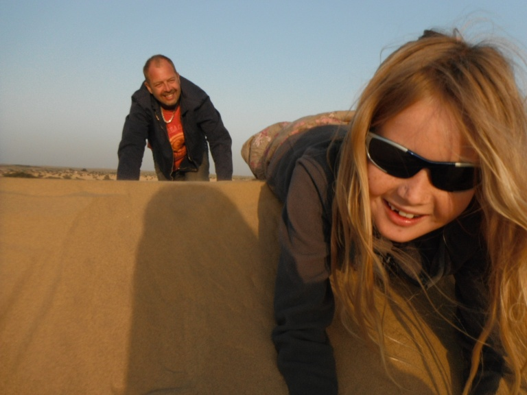 Crawling through the desert - Travellingminstrel #