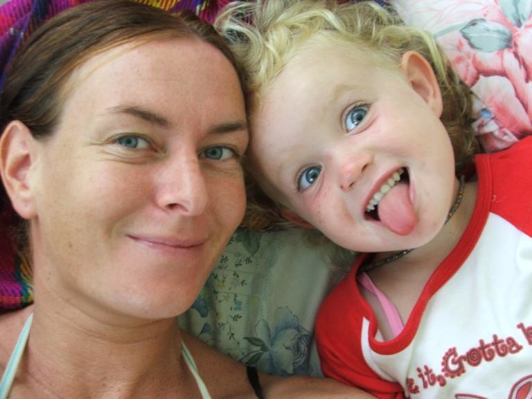 Me and mum in Koh Samui - Travellingminstrel #