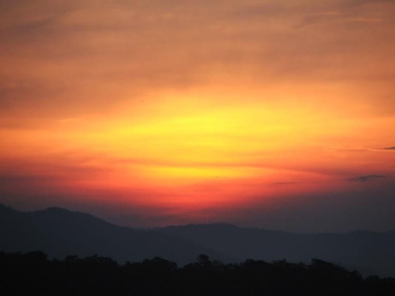 Sunrise over Dalat - Travellingminstrel #