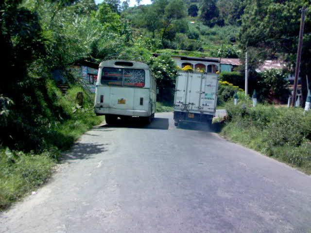 Overtaking truck - Travellingminstrel #