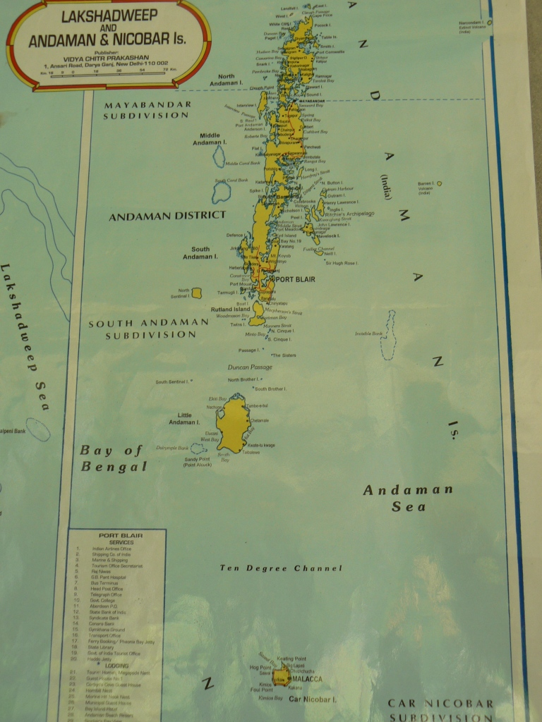 In case you have absolutely no idea where the Andaman islands are - Travellingminstrel.com #