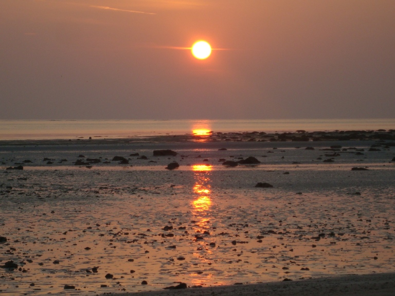 Sun set - Travellingminstrel.com #